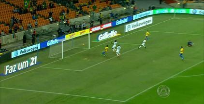 Confira como foi a participação de Hulk na vitória do Brasil sobre a África do Sul - E veja também notícias sobre os jogos do Campeonato Paraibano.