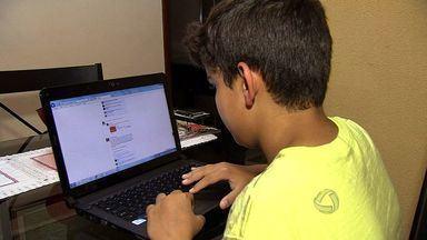 Enquete da Semana: veja como acompanhar o acesso dos filhos à internet - Controlar o uso dessa ferramenta sem invadir a privacidade é o novo desafio para as famílias e o tema da reportagem do Bom Dia MS.