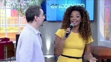 Rainha de bateria, Juliana Alves garante que não é paranoica com dieta - Gata também fala do título de sua escola Unidos da Tijuca e que samba desde pequeninha