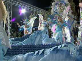 Estrela da Vila fala sobre a água e leva o título do carnaval em Sorocaba - Escola abordou o uso consciente da água como mote do desfile e foi a vencedora, com a 28de Setembro em segundo lugar e a Gaviões da Fiel em terceiro.