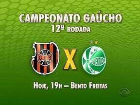 Confira os jogos desta quinta-feira pelo Gauchão - Partidas fecham a 12ª rodada do campeonato.