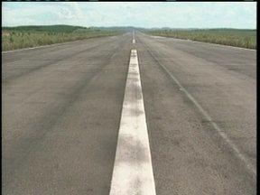 Obras de acesso ao aeroporto de Correia Pinto são retomadas após interferência da chuva - Obras de acesso ao aeroporto de Correia Pinto são retomadas após interferência da chuva