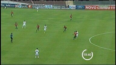Em 'jogo de dois dias', Portuguesa bate Bragantino e afasta risco do Z-4 - Após apagão no Canindé na noite de terça-feira, jogo é adiado e finalizado nesta quarta-feira. Lusa leva a melhor e não corre mais risco de cair.