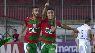Em jogo adiado, Portuguesa confirma vitória e se livra do rebaixamento - Após queda de energia no Canindé, Lusa bate o Bragantino por 3 a 1