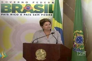 Anunciada, em Brasília, liberação de recursos para obras do Pac para o Maranhão - A presidente Dilma Rousseff anunciou em Brasília, a liberação de recursos para obras do Pac.