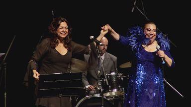 Espetáculo faz tributo pelos 40 anos sem Pixinguinha - Maria Alucina e Selma Reis cantaram os clássicos