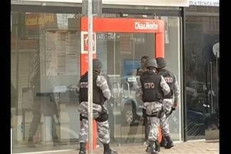 Polícia busca quadrilha que tentou assaltar um banco em Marabá, PA - Gerente da agência e sua esposa foram feitos reféns.