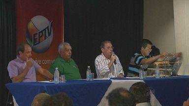 Taça EPTV de futsal entra na trigésima edição - Congresso técnico foi realizado na quinta-feira (13) para definir tabela e regulamento da competição.
