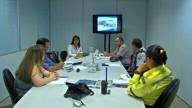 Parceiros do Pedal Centro América fazem reunião sobre o evento - Os parceiros do Pedal Centro América fizeram uma reunião sobre o evento.