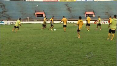 Ubiratan se prepara para encarar o Cene nas quartas de final do estadual - Ubiratan se prepara para encarar o Cene nas quartas de final do estadual