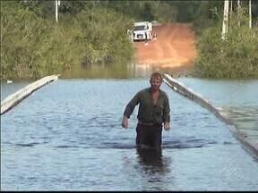 Novo Aripuanã, no Sul do AM, está em estado de emergência devido à cheia - Enchente já atingiu 58 comunidades rurais do município.
