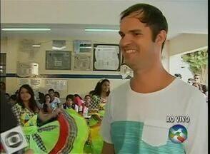Telejornal transmite 'ABTV Vai à Escola' diretamente do Colégio Padre Zacarias - A primeira semana do quadro ficou marcada pelos projetos desta instituição do Bairro do Salgado, em Caruaru.