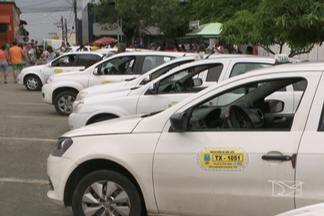 Adiado o prazo para início da fiscalização da frota de táxis de São Luís - Quem é licenciado pela prefeitura deve fazer a vistoria do veículo para conseguir o selo de permissão.