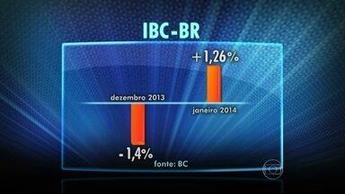 Economia brasileira acelera em janeiro - O IBC-BR, índice que serve como prévia do PIB, indicou crescimento de 1,26% em janeiro. Em dezembro, segundo o mesmo índice, a economia teve queda de 1,4%.