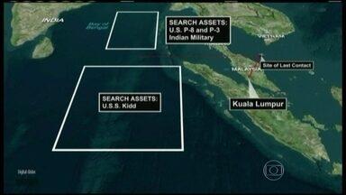 EUA acreditam em intervenção humana em desaparecimento de avião - As principais conjecturas sobre o que aconteceu com o Boeing 777, desparecido há uma semana, vieram de fontes americanas envolvidas na negociação sob o comando do governo da Malásia.