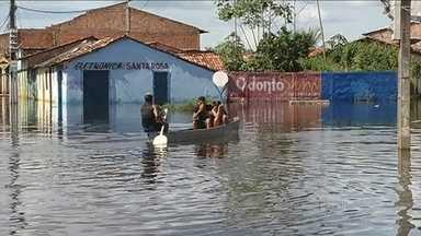 Cheia no Pará deixa mais de 1,8 mil famílias desabrigadas - Altamira, Medicilândia, Marabá e São Félix do Xingu decretaram situação de emergência. O Rio Xingu não para de subir.