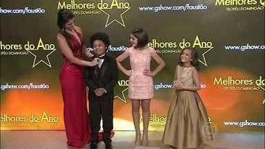 JP Rufino, Klara Castanho e Mel Maia disputam a categoria Ator/Atriz Mirim - Ferinhas da TV brilharam em 2013 e estão indicadas ao Melhores do Ano