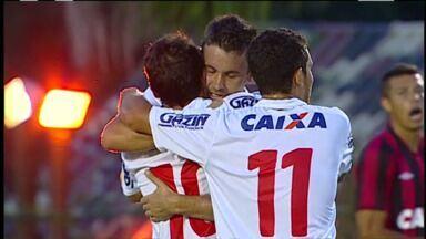 Melhores momentos de Atlético-PR 1 x 2 Paraná pelas quartas de final do Paranaense - Melhores momentos de Atlético-PR 1 x 2 Paraná pelas quartas de final do Paranaense