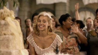 Confira os arremessos de buquê da ficção - Vídeo Show relembra momento clássico das novelas