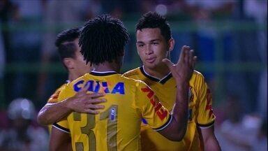 Luciano faz dois, e Corinthians elimina o Bahia de Feira na Copa do Brasil - Com 2 a 0 na Bahia, Timão elimina jogo de volta em São Paulo