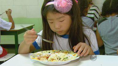 Iniciativa de professora ajuda evitar desperdício de alimento em escola de Araraquara, SP - Iniciativa de professora ajuda evitar desperdício de alimento em escola de Araraquara, SP.