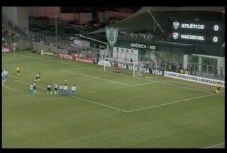 Esporte: Atlético empata jogo de volta com o Nacional do Paraguai - Jogo pela Libertadores acabou em 1x1.