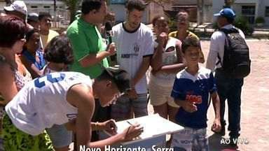 Urna do ESTV: confira as reclamações de quem mora no bairro Novo Horizonte, na Serra - Confira.