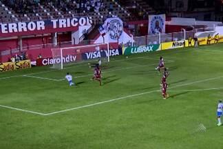 Bahia empata com o Villa Nova, em Minas Gerais - time reencontrou Mancini, ex-jogador do time, experimentou novos atletas e perdeu grandes chances de gol.