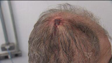 Homem de 64 anos reage a assalto e acaba ferido em Praia Grande - Adolescente suspeito da agressão possui várias passagens pela Fundação Casa.