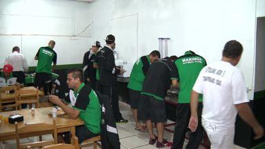 O Maringá Futebol Clube enfrenta o Prudentópolis hoje no Estádio Willie Davids - A partida vai ser às 16h