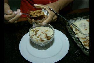 Mousse light é receita rápida e pouco calórica - Sobremesa tem cookie e castanha do Pará. Prática, fica pronta em 15 minutos.