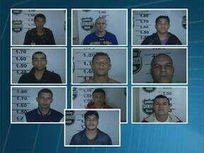 Polícia busca presos que fugiram da cadeia em Toledo - Dos 20 detentos que fugiram, 10 já foram recuperados. A fuga foi ontem no fim da tarde. Veja a foto e o nome dos foragidos.