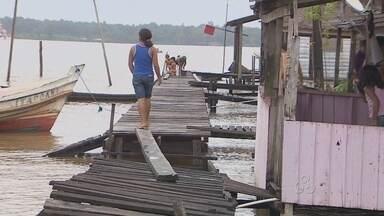 As dificuldades enfrentadas pelo moradores do Delta do Matapi, em Santana - As dificuldades enfrentadas pelo moradores do Delta do Matapi, em Santana