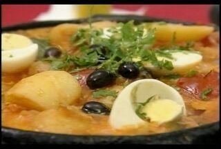 Durante a Quaresma, o bacalhau ganha destaque e a preferência na mesa - Aprenda uma receita de bacalhoada portuguesa.