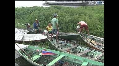 Pescadores comemoram o dia da água limpando lagos - Os participantes limparam os lagos do Papucu e Mapiri, onde trabalham diariamente.