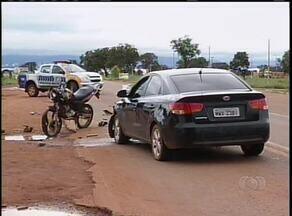 Acidente na TO-080 deixa feridos entre Palmas e Paraíso do Tocantins - Acidente na TO-080 deixa feridos entre Palmas e Paraíso do Tocantins