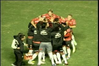 Brasil venceu e está na semifinal do campeonato - Torcedor xavante está feliz da vida