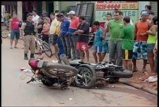 Mototaxista morre em grave acidente na Av. João XXIII, em Montes Claros - Outras duas pessoas ficaram feridas neste acidente.