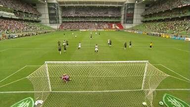 Atlético-MG e Cruzeiro vencem na primeira partida da semifinal do Mineiro - Galo derrotou o América-MG por 4 a 1; Raposa bateu o Boa por 1 a 0
