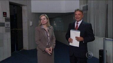 Governo e oposição divergem sobre a criação da CPI da Petrobras - A senadora Gleisi Hoffmann (PT-PR) afirmou que a CPI não é uma realidade, pois não há fatos concretos que os levem a ela. Já o senador Álvaro Dias (PSDB-PR) ela é uma investigação política que pode complementar a judiciária.