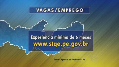 Agência do Trabalho oferece mais de 20 oportunidades no Grande Recife - No Recife, são 10 vagas para dez vagas para ajudante de carga e descarga e 10 para caldeireiro no Cabo.