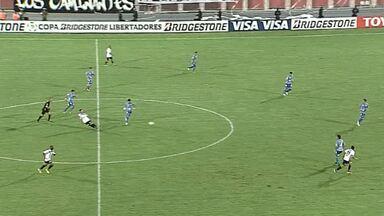 Pela Libertadores, Zamora-VEN vence Nacional-PAR por 2 a 0 - O jogo foi na cidade de Barinas, na Venezuela. O primeiro gol saiu em uma falha da defesa do Nacional-PAR.