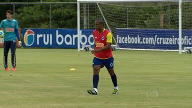 Após lesão no começo da temporada, Borges volta a treinar com os companheiros no Cruzeiro - Após lesão no começo da temporada, Borges volta a treinar com os companheiros no Cruzeiro