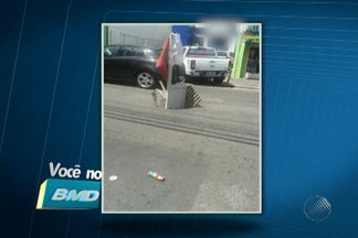 Telespectadores enviam vários registros de buracos, em Salvador - Confira no quadro Você no BMD.