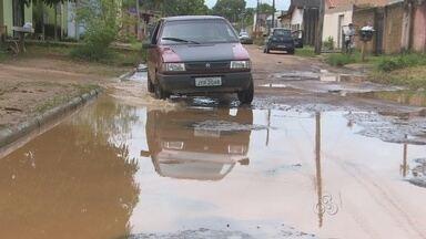 Em Porto Velho, muitos trechos de ruas o asfalto está esburacado - O Rondônia TV percorreu algumas ruas para mostrar a situação.