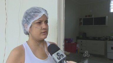Moradores do bairro Areal buscam alternativas para locomoção - Bairro foi invadido pela água do Rio Madeira.