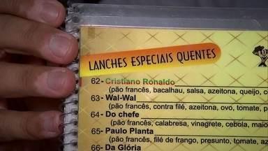 Cristiano Ronaldo é nome até de sanduíche de bacalhau - O melhor jogador do mundo, o português Cristiano Ronaldo, vai ficar em Campinas. E a cidade está eufórica, até nome de sanduíche ele já tem.