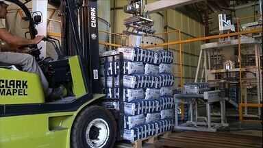 Indústria de MS comemora o aumento nas exportações - O setor industrial tem se consolidado como um dos principais setores de geração de emprego do estado