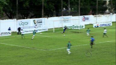 Cuiabá vence o Luverdense na primeira partida da final do estadual - Com gol de Samuel, o Cuiabá venceu o Luverdense e saiu na frente pela disputa do título Mato-grossense de 2014.