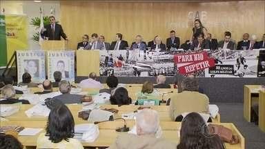 Brasileiros que lutaram contra a ditadura recebem homenagens em Brasília - A OAB homenageou os profissionais que defenderam perseguidos políticos. O ministro da Justiça pediu desculpas pelos atos de arbítrio do estado durante a ditadura.